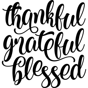 Thankful Grateful Blessed Scriptures to uplift you